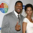 Michael Strahan and Nicole Mitchell