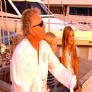 Roger Taylor and daughters Lola and Tiger Lily - 454 x 441