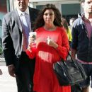 "Kourtney Kardashian: at the ""FOX & Friends"" studios in New York"