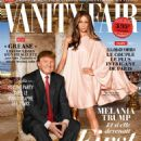 Donald Trump and Melania Knauss - Vanity Fair Magazine Cover [France] (August 2016)
