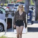 Emma Roberts – Shopping in Los Angeles 8/22/2016