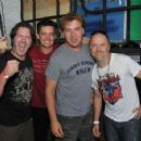 Don Jamieson, Jim Breuer, Jim Florentine and Lars Ulrich attend the 2012 Orion Music + More Festival at Bader Field on June 23, 2012 in Atlantic City, New Jersey. - 454 x 356