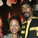 Snoop Dogg and his lovely wife