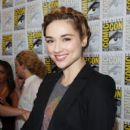 Crystal Reed: a press conference for Teen Wolf during Comic-Con 2012 in San Diego