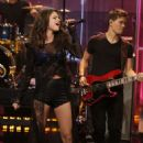 Selena performing on The Tonight Show with Jay Leno July 23