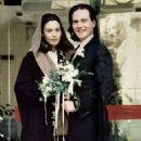 Monica Belluci and Claudio Basso