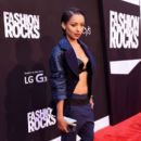 Actress Kat Graham attends Fashion Rocks 2014 presented by Three Lions Entertainment at the Barclays Center of Brooklyn on September 9, 2014 in New York City