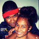 Usher Raymond and Rozonda Chilli Thomas - 454 x 355