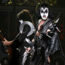 Gene Simmons of Kiss performs during the VH1 Rock Honors at the Mandalay Bay Events Center on May 25, 2006 in Las Vegas, Nevada - 454 x 330