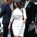 Kim Kardashian Leaving The Peninsula Beverly Hills