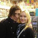 Carl Barat with Victoria Cecilia