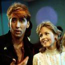 Nicolas Cage and Deborah Foreman