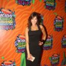 Catherine Fulop at the Kid's Choice Awards Argentina - 438 x 658