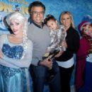 Heidi Balvanera and Jaime Camil- 20th Century Fox Hosts Celebrity Family Sunday Funday Toy Drive