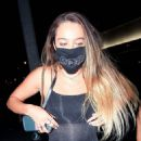 Sommer Ray – seen arriving for her 24th birthday celebration at BOA in Hollywood