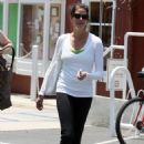 Teri Hatcher Out And About In Santa Monica 2008-07-04