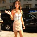 Jimena Navarrete - Arriving At A Midtown Manhattan Office Building - 2010-08-26