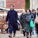 Helena Bonham Carter out with Rye Dag Holmboe and son in North London - 454 x 483