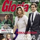 Roger Federer and Miroslava Vavrinec - 454 x 566