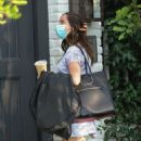 Ana De Armas and Ben Affleck – Spotted outside their home in Pacific Palisades