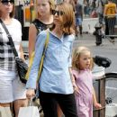 Sofia Coppola takes her daughter Romy shopping in Soho - 355 x 594