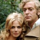 Michael Caine and Britt Ekland