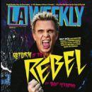 Billy Idol - LA Weekly Magazine Cover [United States] (13 February 2015)