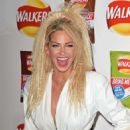 Sarah Harding Walkers Bring It Back Campaign Launch In London