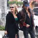 Nikki Lund and Richie Sambora check out their new flagship store 'Nikki Rich' opening in March 15 in Beverly Hill, CA on February 2, 2015 - 379 x 600