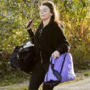 Faye Brookes – Seen leaving Dancing on Ice Training in Manchester