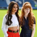 Cheryl Tweedy and Nicola Roberts – GAME4GRENFELL charity football match – London - 454 x 604