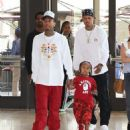 Tyga and King Cairo at the Premiere of The New Netflix Series True and the Rainbow Kingdom at The Grove in Los Angeles, California - August 10, 2017