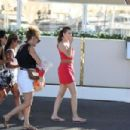 Barbara Palvin on a photoshoot in St. Tropez adds