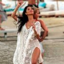 Nicole Scherzinger – On a photoshoot on the beach in Mykonos - 454 x 680