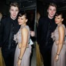 Garrett Hedlund and Rashida Jones