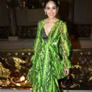 Araya Hargate – Wear green dress at Giambattista Valli Haute Couture - 454 x 681