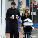 Nicole Richie & Joel Madden Taking Out Daughter Harlow In Glendale, CA 2008-05-09 - 454 x 578