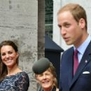 The Duke And Duchess Of Cambridge Canadian Tour - Day 1  (Kate Middleton)