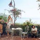 Lara Stone, Kit Harington - Vogue Magazine Pictorial [United States] (March 2014)
