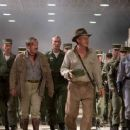 (Left to right) Ray Winstone as Mac, Igor Jijikine as Dovchenko, Harrison Ford as Indiana Jones and Cate Blanchett as Irina Spalko star in 'Indiana Jones and the Kingdom of the Crystal Skull.' Photo Credit: David James. ™ & © 2008 Lucasfilm Ltd. A
