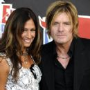 Billy Duffy and girlfriend AJ Celi at
