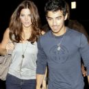 Joe Jonas and Ashley Greene Katsuya dinner date