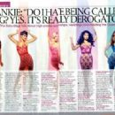 The Saturdays Magazine scans and shoots - 454 x 329