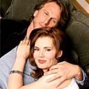 Geena Davis and Peter Horton