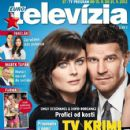 Emily Deschanel, David Boreanaz - Eurotelevízia Magazine Cover [Slovakia] (15 September 2012)