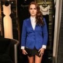 Actress Zoey Deutch attends ESCADA and W Magazine's celebration of Cool Earth with hosts Daniel Wingate, Suzanne Todd and Jennifer Todd at Escada Boutique on September 26, 2013 in Beverly Hills, California