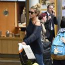 Gemma Atkinson – Arriving into Manchester Piccadilly train station