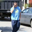 Adam Sandler is seen out and about in Brentwood CA March 24, 2017 - 454 x 562