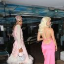 Courtney Stodden in Pink Long Dress – Out in Beverly Hills - 454 x 681