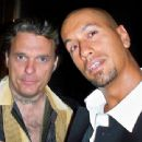 Actor/director Damian Chapa and actor/magician Jason 'Jemini' Kakebeen - 454 x 341